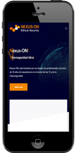 Diseño web responsive Nexus-ON
