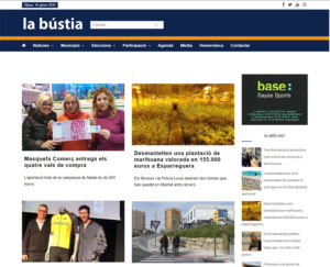 diseño web revista digital barcelona